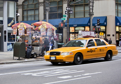 Paterson Super Taxi on the road